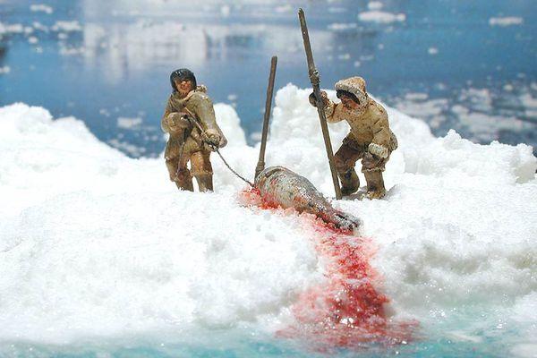 Inuit Hunting Techniqu...
